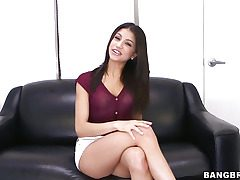 Veronica Rodriguez delights herself with a fuck stick