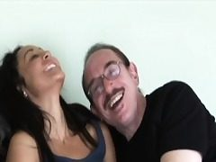 Youthful inexperienced analy creampied by grandpa