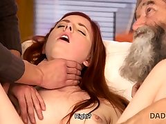 DADDY4K. Dirty stud fingers GF for cuckold on him with...