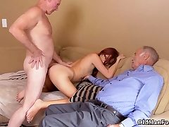 Elderly nymph drink and girl rails daddy Frannkie And The