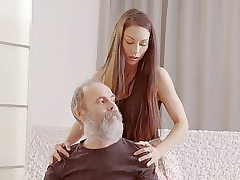 DADDY4K. Teenage babe tells a story about her daddy porn...
