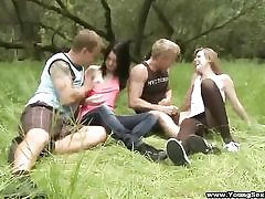 Taking a teenager bang-out soiree outdoors